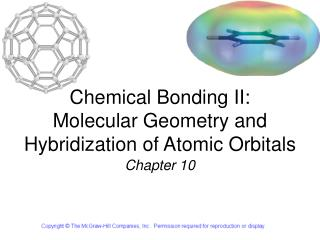 Chemical Bonding II: Molecular Geometry and Hybridization of Atomic Orbitals