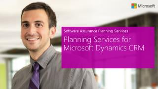 Software Assurance Planning Services