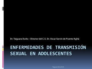 Enfermedades De Transmisión Sexual En Adolescentes