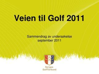 Veien til Golf 2011