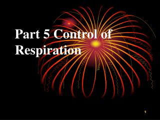 Part 5 Control of Respiration