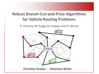 Robust Branch-Cut-and-Price Algorithms for Vehicle Routing  Problems