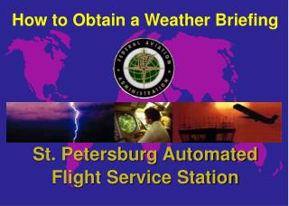 How to Obtain a Weather Briefing