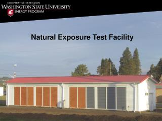 Natural Exposure Test Facility