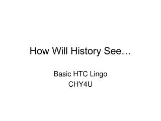 Lingo Glossary