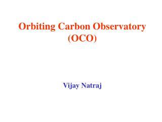 Orbiting Carbon Observatory (OCO)