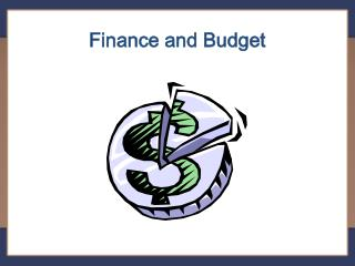 Finance and Budget
