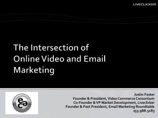 The Intersection of Online Video and Email Marketing