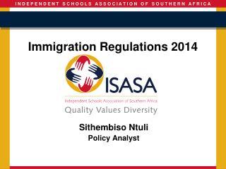 Immigration Regulations 2014