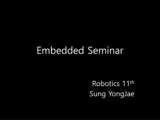 Embedded Seminar