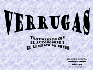 VERRUGAS