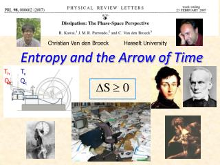 Entropy and the Arrow of Time