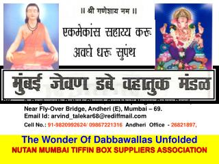 Cell No.:  91-9820992624/ 09867221316   Andheri  Office  -  26821897,