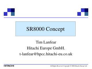 SR8000 Concept