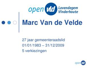 Marc Van de Velde