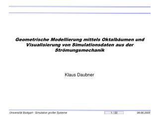 Klaus Daubner