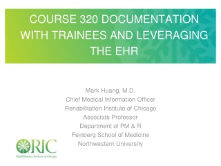 Cerner EMR Medical Student Training