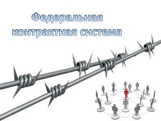 Федеральная контрактная система