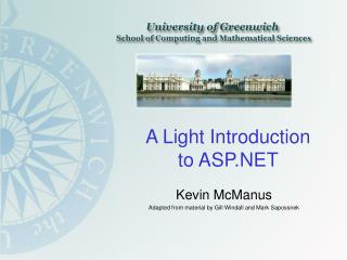 A Light Introduction to ASP.NET