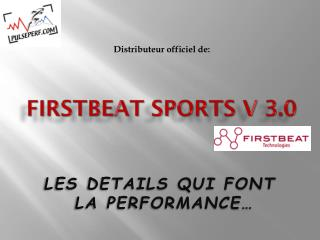 FIRSTBEAT SPORTS V  3.0