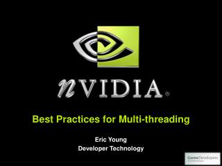 Best Practices for Multi-threading