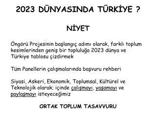 2023 D NYASINDA T RKIYE