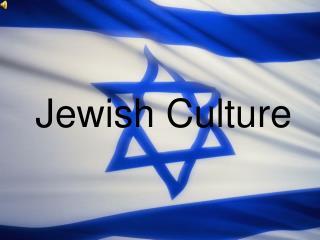 Jewish Culture