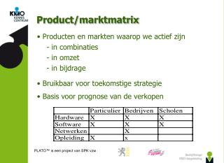 PLATO™ is een project van SPK vzw