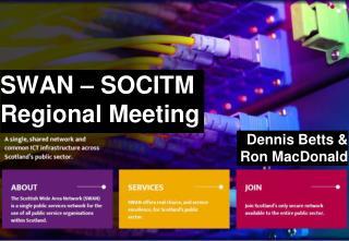 SWAN � SOCITM Regional Meeting