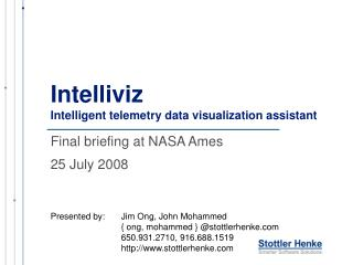 Intelliviz Intelligent telemetry data visualization assistant