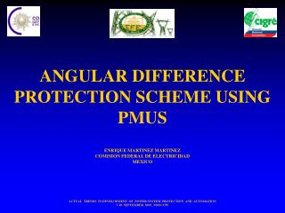 ANGULAR DIFFERENCE PROTECTION SCHEME USING PMUS