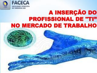 """A INSERÇÃO DO PROFISSIONAL DE """"TI""""     NO MERCADO DE TRABALHO"""