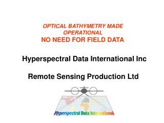 Remote Sensing Production Ltd