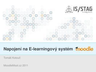 Napojení na E-learningový systém