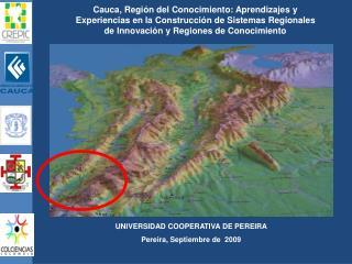 UNIVERSIDAD COOPERATIVA DE PEREIRA Pereira, Septiembre de   2009