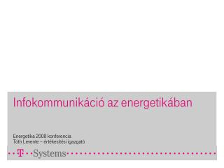 Infokommunikáció az energetikában