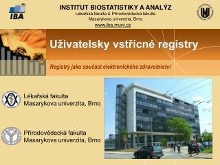 Uživatelsky vstřícné registry