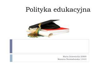 Polityka edukacyjna