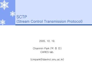 SCTP (Stream Control Transmission Protocol)