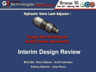 Interim Design Review