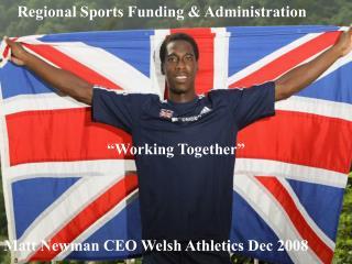 Regional Sports Funding & Administration