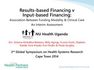 NU  Health  Uganda