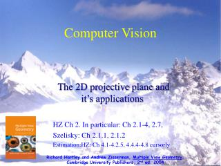 Computer Vision