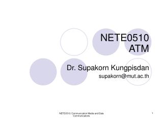 NETE0510 ATM