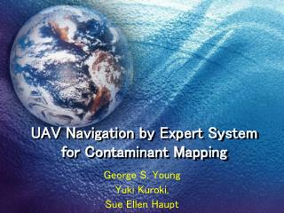 UAV Navigation by Expert System for Contaminant Mapping