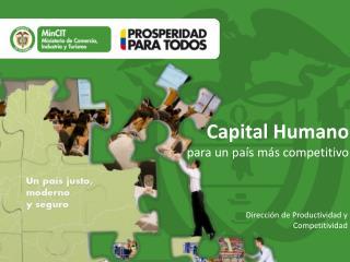 Capital Humano  para un país más competitivo