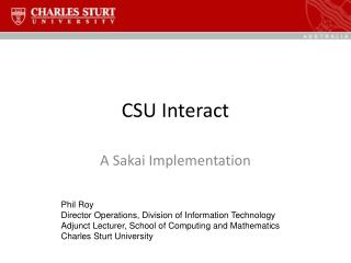 CSU Interact
