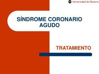 S�NDROME CORONARIO AGUDO