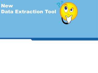 New  Data Extraction Tool