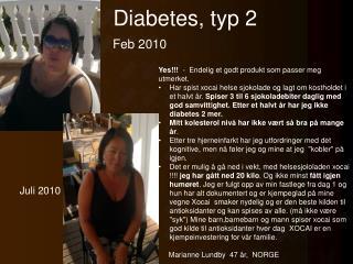 Diabetes, typ 2